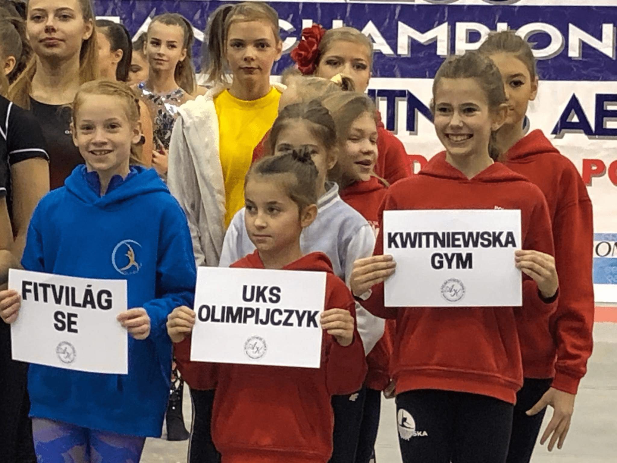 Rozpoczęły się Mistrzostwa Europy Fitness Fit-Kids & Fitness Aerobic