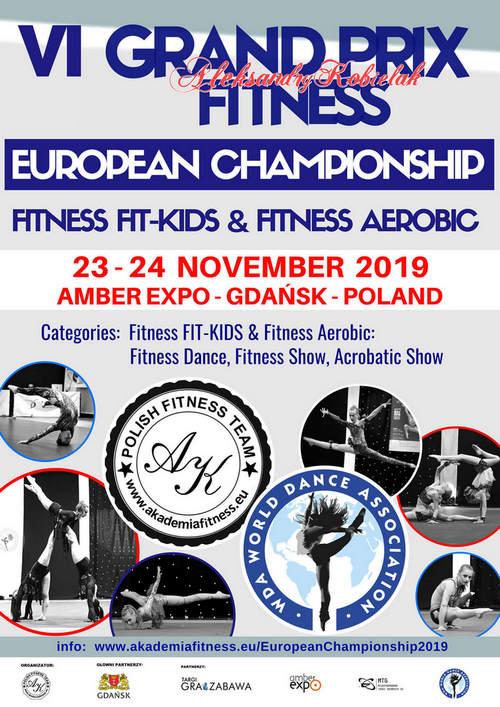 Mistrzostwa Europy Fitness  Fit-Kids & Fitness Aerobic